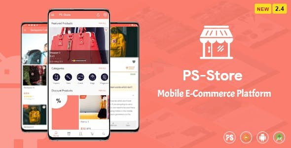 PS Store v2.8 - Mobile eCommerce App for Every Business Owner
