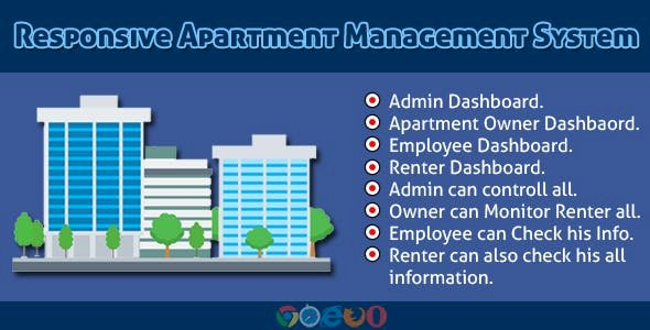 Responsive Apartment Management System v3.0 Pre-Installed