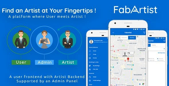 Hire for Work v1.1.6  - Fab Artist Android