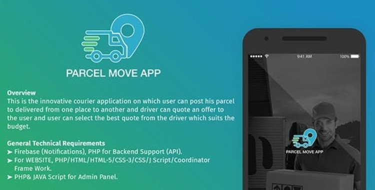 Parcel Move Full Application for Android 18 Sep 2020 Update