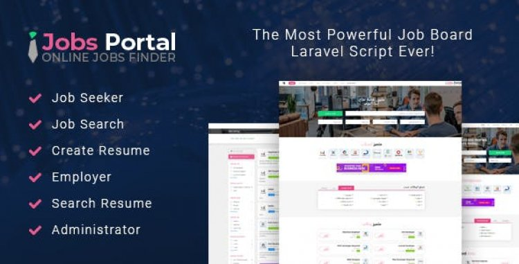 Jobs Portal v3.2 - Job Board Laravel Script