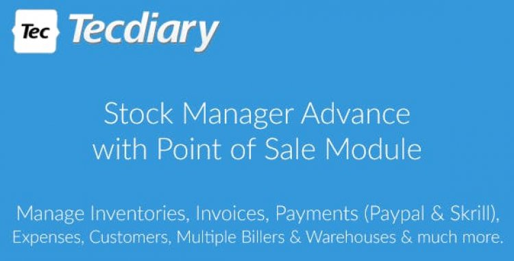 Stock Manager Advance with Point of Sale Module v3.4.44