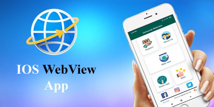 iOS Web View App Template 27 July 2020