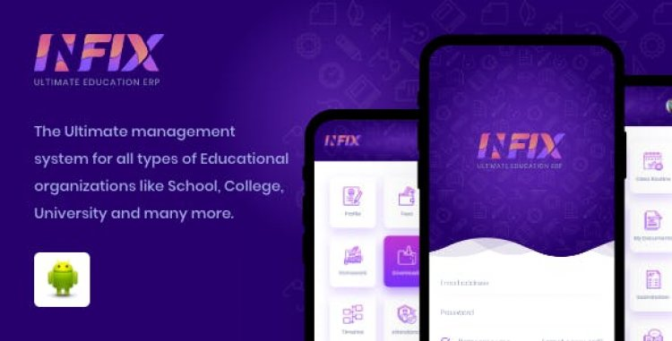 InfixEdu School Android App v1.4.5 - Management school from your android system