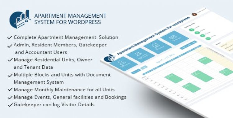 WPAMS v31.0 - Apartment Management System for wordpress