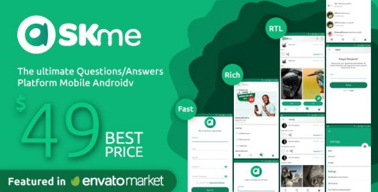 AskMe Android v1.0.1 - Mobile Questions & Answers Social Network Application