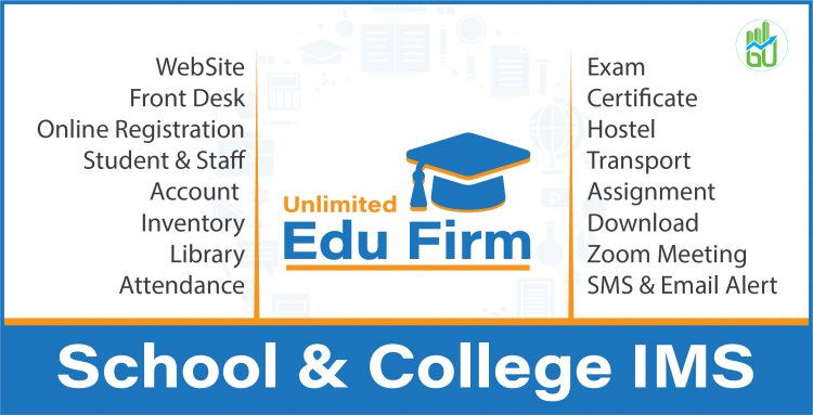 Unlimited Edu Firm School with v3.0 - College Information Management System