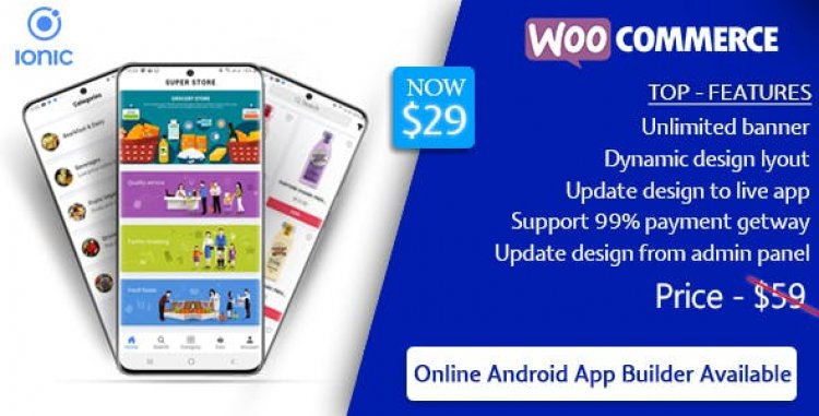 Quick Order v1.9 - ionic 5 mobile app for woocommerce with multivendor features
