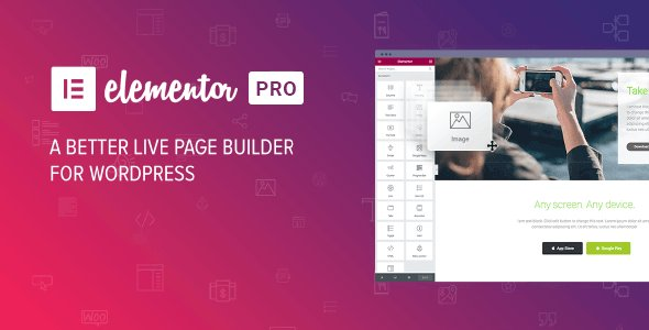 Elementor PRO v2.6.0 NULLED - WordPress Page Builder